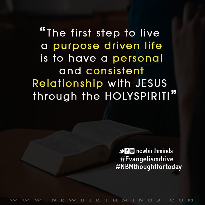 OUR RELATIONSHIP WITH JESUS IS THROUGH THE HOLY SPIRIT