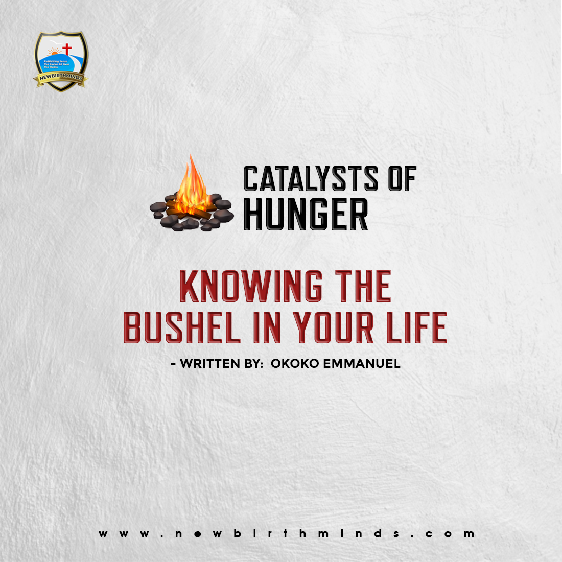 KNOWING THE BUSHEL IN YOUR LIFE